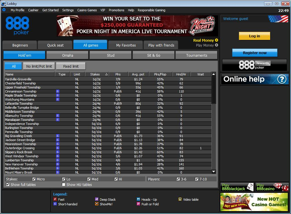 888 poker pa client 1