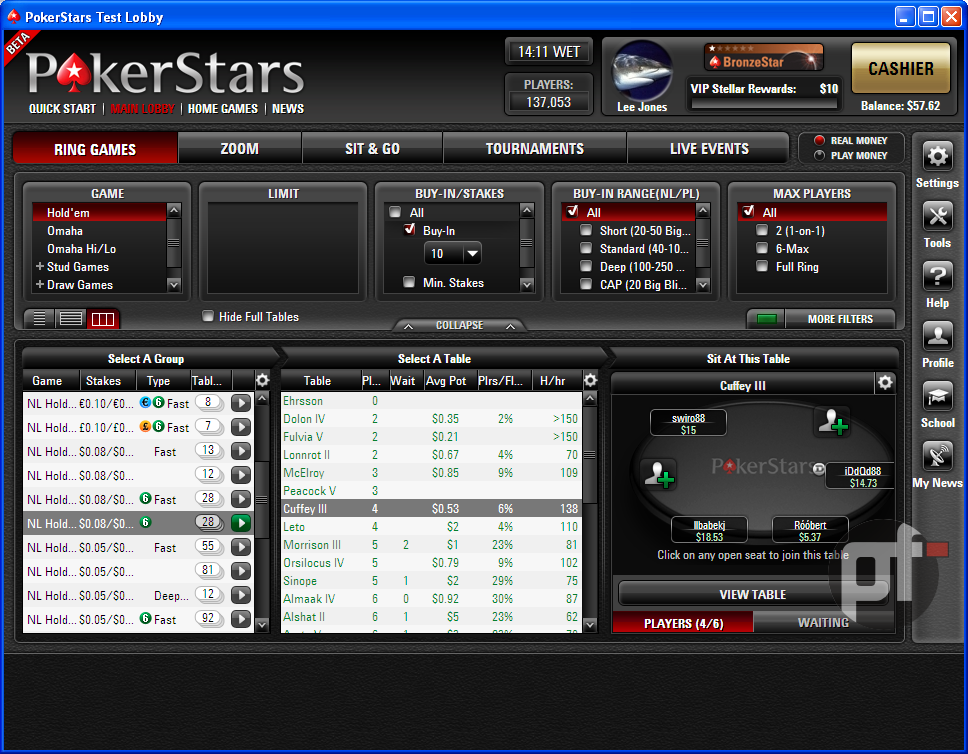 pokerstars client 2